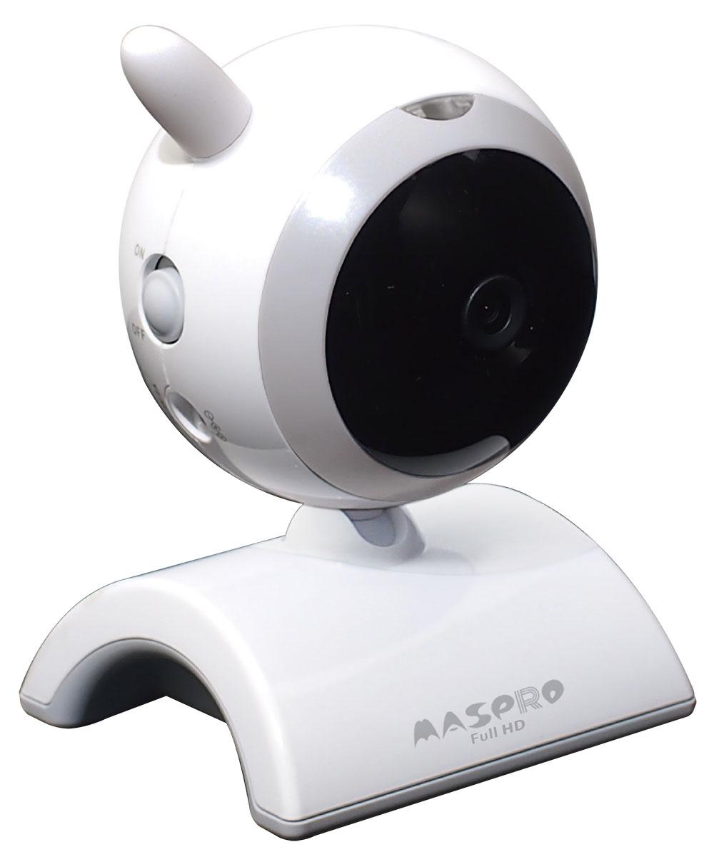 マスプロ電工 屋内用増設フルハイビジョンカメラ(モニター&ワイヤレスHDカメラセットWHC7M2、WHC10M2) [WHCFHD-CI]【送料無料※沖縄・離島は除く】ワイヤレスカメラ 防犯カメラ 簡単設置 工事不要 ※カメラのみです。モニターは付属しません