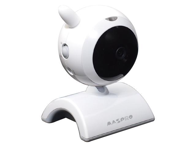 マスプロ電工 屋内用増設ハイビジョンカメラ(モニター&ワイヤレスHDカメラセットWHC5M、WHC7M用) [WHCHD-CI]【送料無料※沖縄・離島は除く】ワイヤレスカメラ 防犯カメラ 簡単設置 工事不要 ※カメラのみです。モニターは付属しません