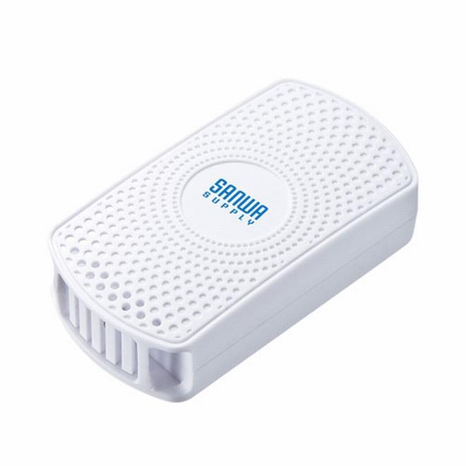 【メーカー直送】サンワサプライ 温度・湿度センサー搭載BLEビーコン(3個セット)[MM-BLEBC7]【送料無料※沖縄・離島は配送不可】iBeacon アイビーコン 小型 コンパクト Bluetooth 遠隔アプリ操作