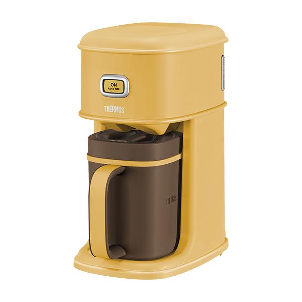 サーモス アイスコーヒーメーカー [ECI-661-CRML]キャラメル【送料無料※沖縄・離島除く】容量:0.31リットル ドリップスルー機構 オートオフ機能付き 珈琲