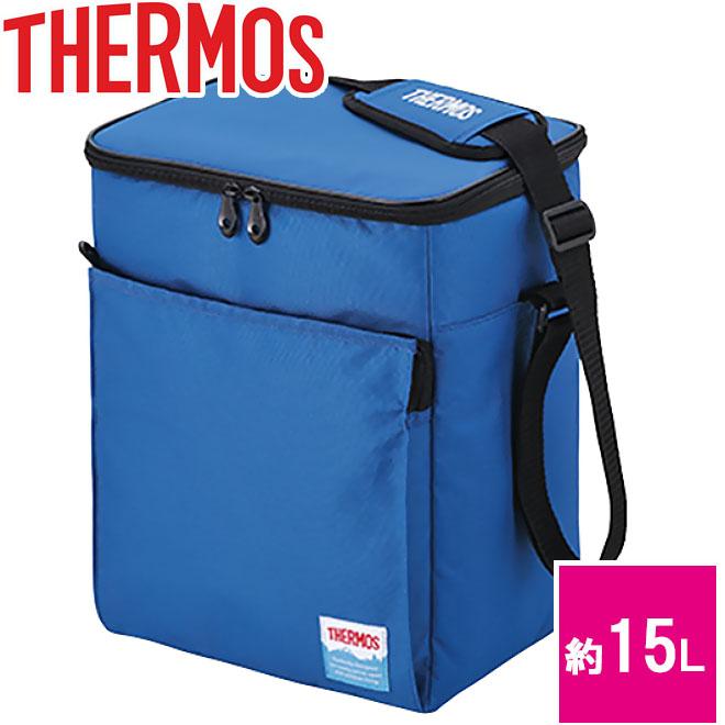 サーモス ソフトクーラー 約15L ブルー [REF-015-BL]エコバック 保冷バック クーラーボックス 軽量 軽い 運動会 レジャー アウトドア