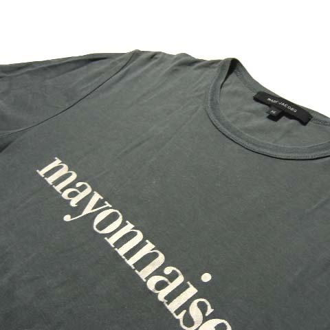 MARC JACOBS 마크 제이콥스 「XS」마요네즈 T셔츠(반소매 컷소우) 034104