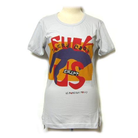 【新古品】 Vivienne Westwood worlds end ヴィヴィアンウエストウッド ワールズエンド 限定 FUCK Tシャツ (MAN マン ユニセックス) 034539 【中古】