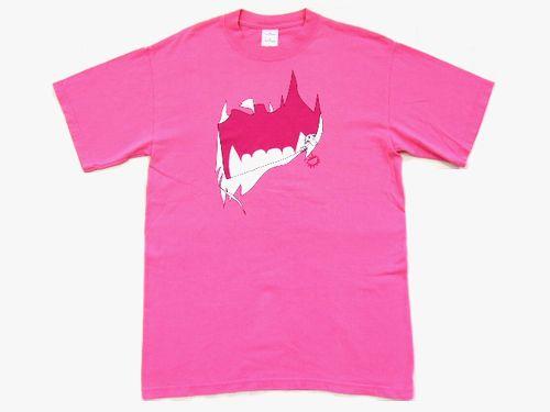 NIKE×MARC JACOBS ナイキ×マークジェイコブス 限定VANDALスニーカーTシャツ (ピンク 半袖) 036437 【中古】