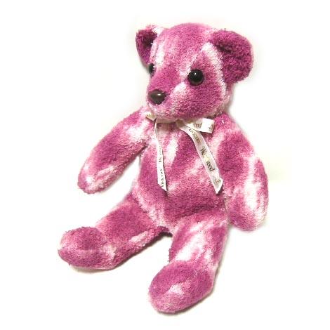 廃盤 Vivienne Westwood ピンクレオパードテディーベアー (クマ 熊 MAN マン ヴィヴィアンウエストウッド) 037028 【中古】