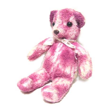 廃盤 Vivienne Westwood ピンクレオパードテディーベアー (クマ 熊 MAN マン ヴィヴィアンウエストウッド) 037029 【中古】