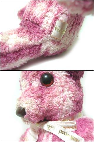 廃盤 Vivienne Westwood ピンクレオパードテディーベアー (クマ 熊 MAN マン ヴィヴィアンウエストウッド) 037029
