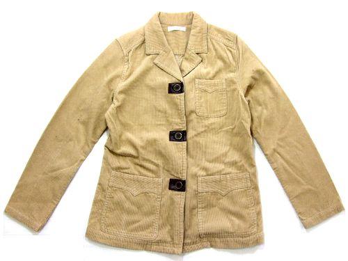 \3980以上購入で 送料無料 別倉庫からの配送 faire jou ミリタリーサファリジャケット Military safari 2020 新作 jacket フェールジュジュ 038239 中古