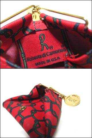 3a7d25e7be ... Vintage old Roberta di Camerino vintage robertadicamerino coin charm  classic coin purse (wallet) 038473