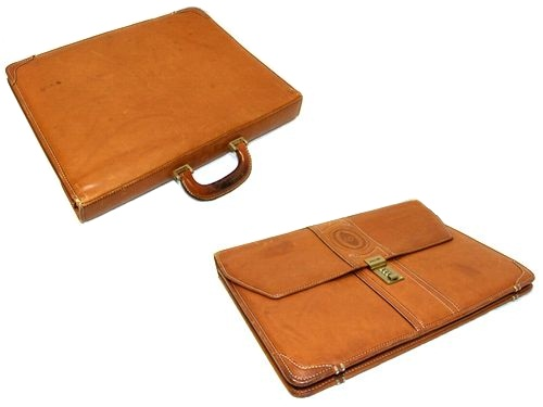 POLLINI 포리니 ITALY 클래식 레더 비즈니스 브리프케이스 가방(가방 가방) 042737