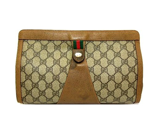 fb1f307e083 vintage old GUCCI classical music monogram second bag (Classic monogram  design second bag) vintage old Gucci 044514