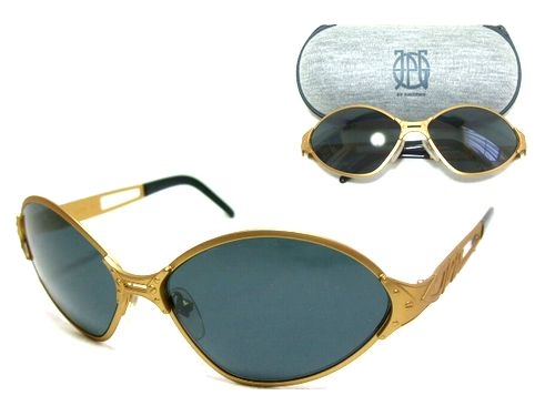 233b4ed76fc1 Discontinuance of making Jean Paul GAULTIER Jean-Paul Gaultier antique gold  machine type frame sunglasses ...