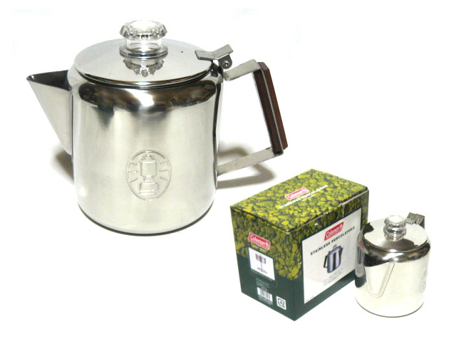 Coleman Coleman 8cup stainless steel percolator L (outdoor camping equipment) 052401 ...