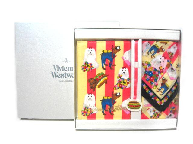 【新古品】 廃盤 Vivienne Westwood 限定メルヘンブックカバー+ハンカチーフセット (ヴィヴィアンウエストウッド) 052926 廃盤 052926【中古 Vivienne】, 河芸町:7c040d0d --- rods.org.uk