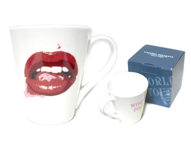 【新古品】 廃盤 Vivienne Westwood ヴィヴィアンウエストウッド 香港 回顧展 限定 リップ マグカップ (ビビアン) 053407 【中古】