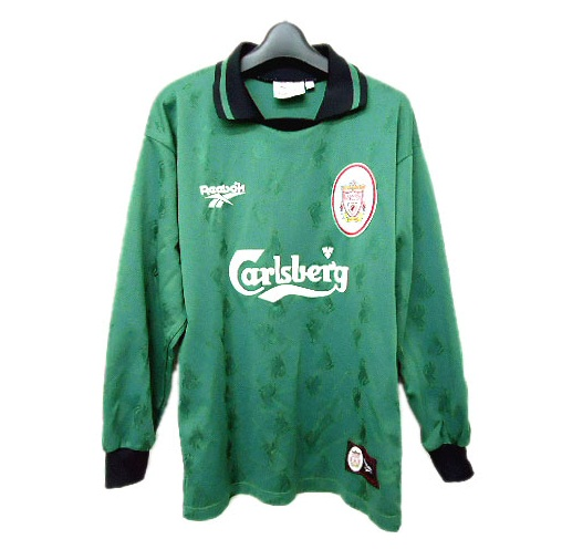 Reebok 「MADE IN UK」 LIVERPOOL FC Game shirt (リーボック リバプールFCゲームシャツ) Tシャツ vintage ヴィンテージ 055487 【中古】