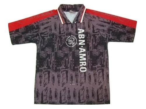 vintage UMBRO ヴィンテージ アンブロ 英国製 アヤックス ゲームシャツ (サッカー Tシャツ アムステルダム) 056703 【中古】