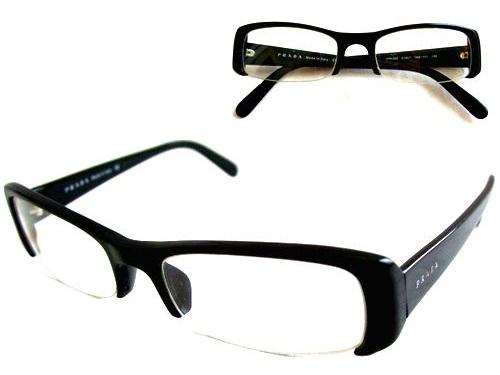 PRADA プラダ ITALY イタリア製 アンダーロスフレームサングラス・眼鏡 060453 【中古】