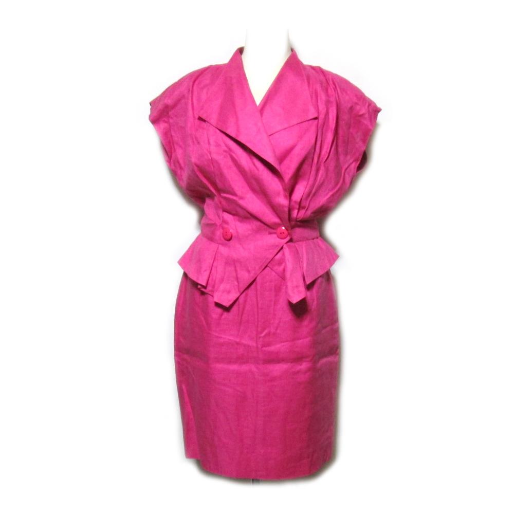 vintage old Christian Dior ヴィンテージオールド クリスチャンディオール 「M」 Miss Dior レトロ セットアップスーツ 060789 【中古】