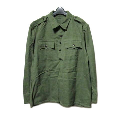 80's vintage BULGARIA Military 빈티지 불가리아군세일러 셔츠(밀리터리 ARMY 아미 풀오버 재킷) 062130