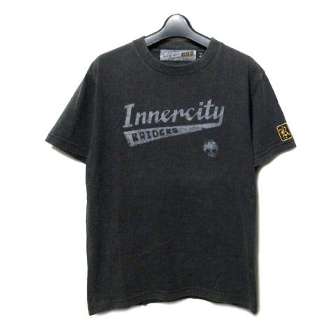 I.C.R vs DETH KILLERS デスキラーズ 「S」 ヴィンテージ加工 インナーシティー Tシャツ (CELUX セリュックス) 062709 【中古】