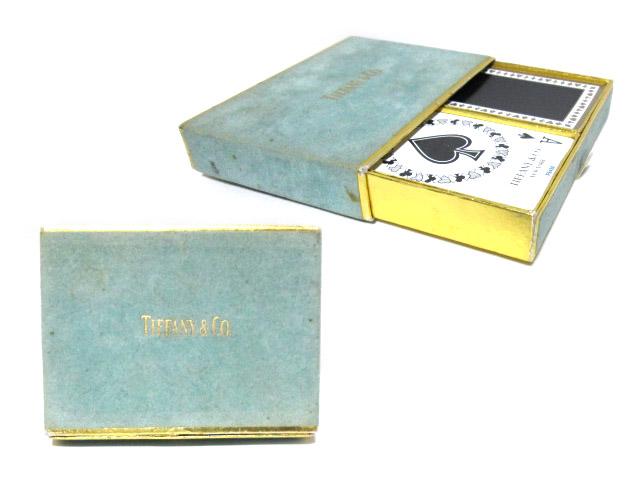 vintage old Tiffany&Co. ヴィンテージオールド ティファニー トランプ ボックス セット (ビンテージ) 063807 【中古】