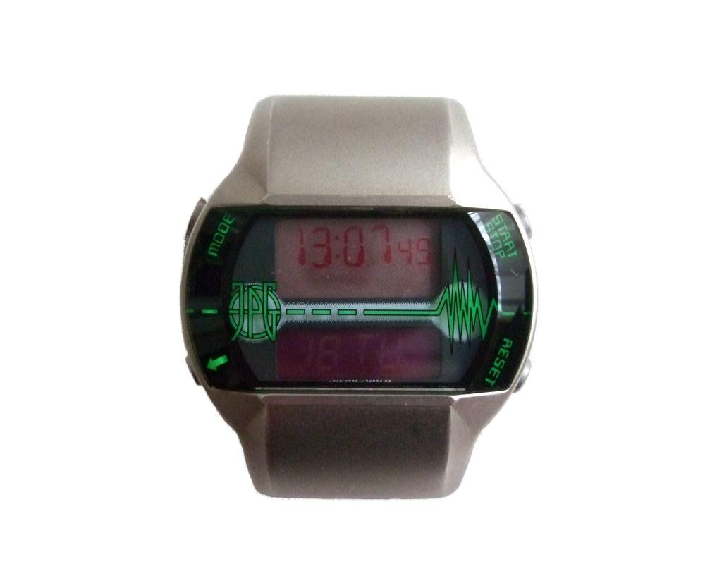 廃盤 Jean Paul GAULTIER ジャンポールゴルチエ サイバー デジタルウォッチ 腕時計 (ゴルチェ オム フェム) 068018 【中古】
