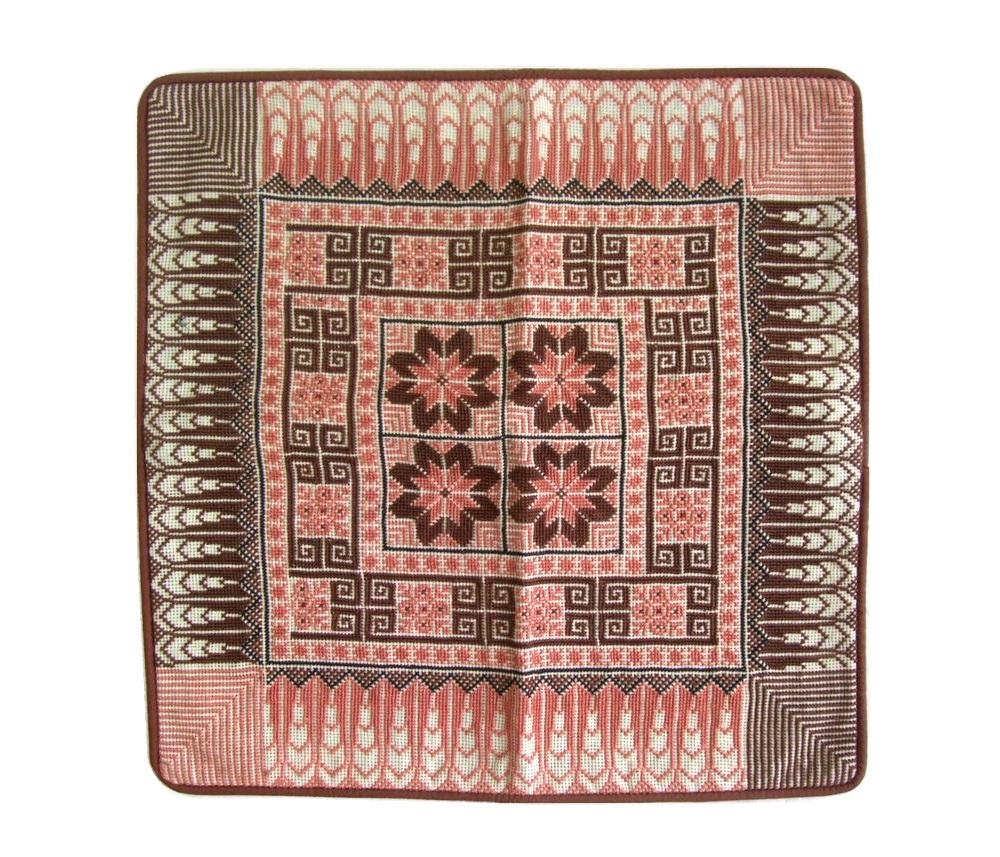 最安値 \3980以上購入で ☆最安値に挑戦 送料無料 未使用 Syrian Gobelin tapestry 070941 シリア cover 絨毯クッションカバー 中古 cushion