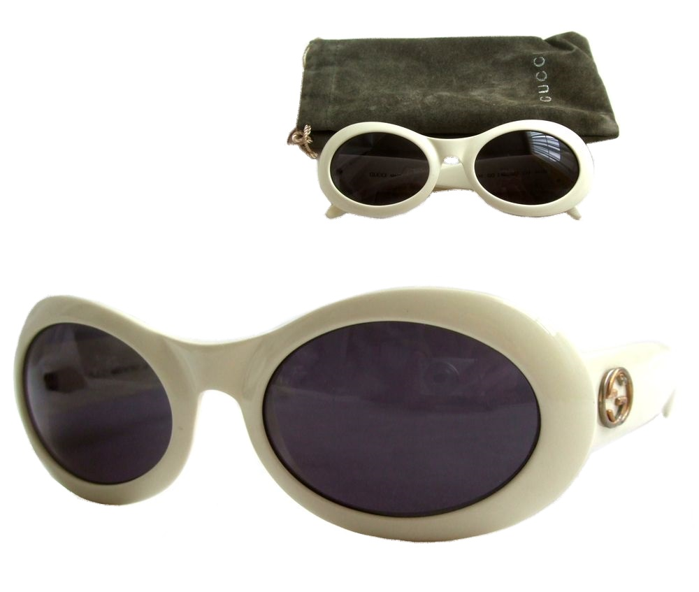 gucci goggles. vintage old gucci gucci made in italy big frame sun glasses (vintage eyewear goggles \