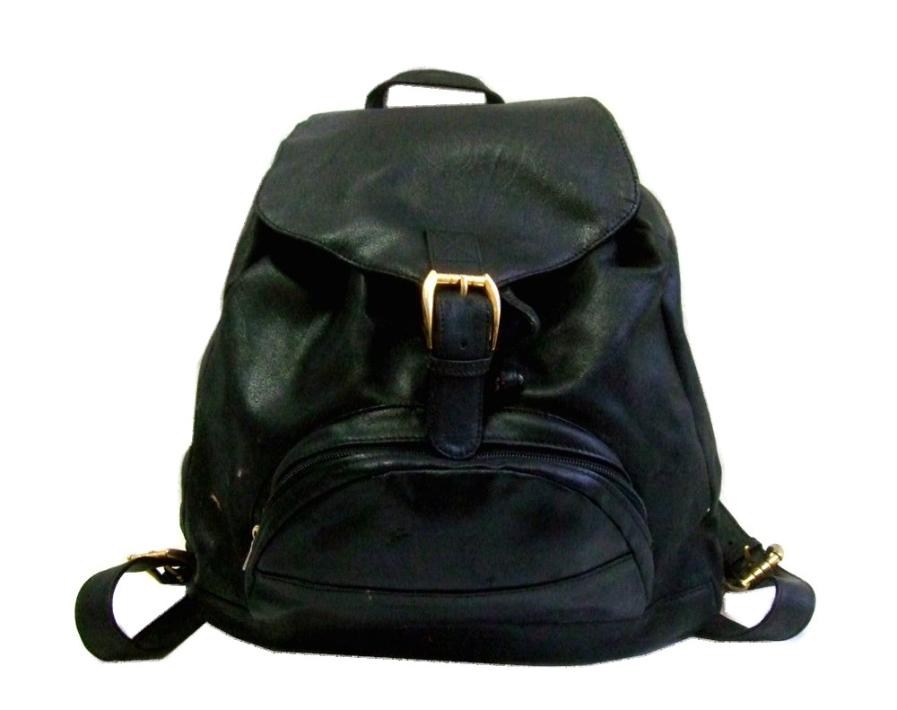 2d4b4dffb6 Worn    SALE  GIANNI VERSACE Gianni Versace leather Backpack Rucksack (bag  bag Versace) 075645