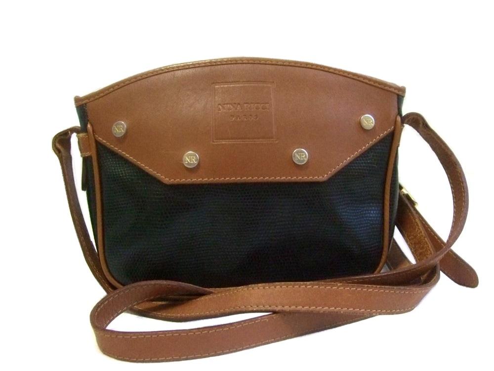 Vintage Nina Ricci Italy Classic Shoulder Bag 075996