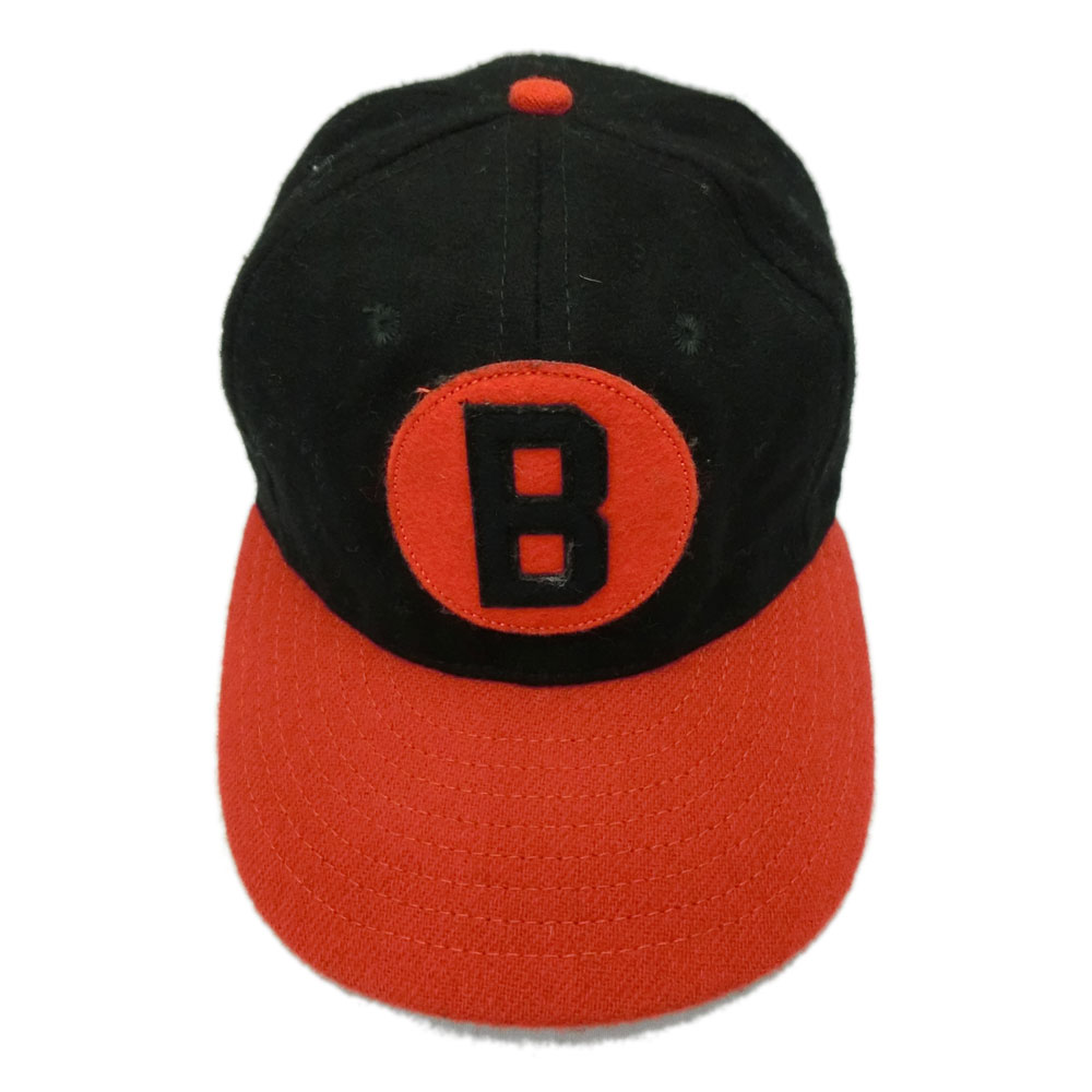 6c146809ba763 COOPERSTOWN BALL CAP CO. Cooperstown ball cap black X orange Baltimore  Black Sox patch logo (baseball BBSC29 3inch Visor) 076018