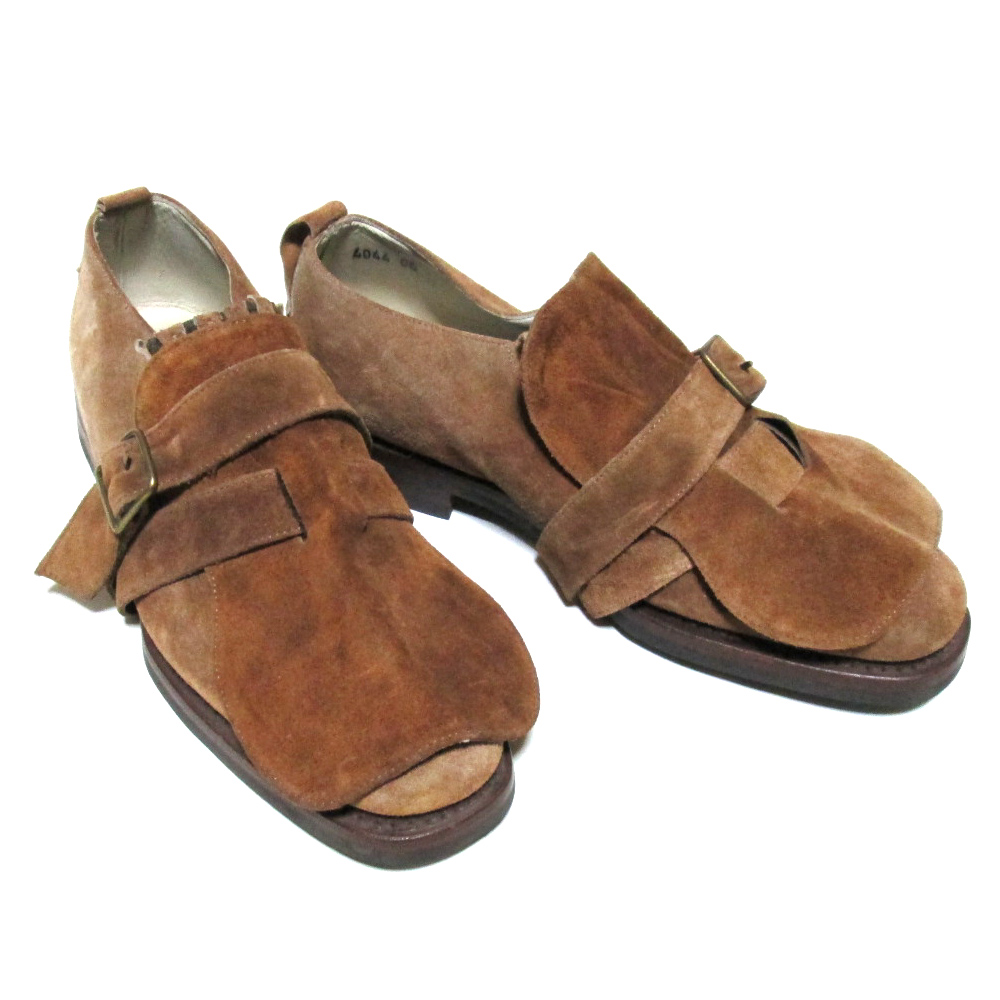 PATRICK COX パトリックコックス 「40」 イタリア製 ベルテッド レザーシューズ (ブーツ 革皮靴) 079929 【中古】