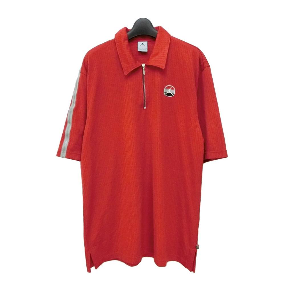 ab416b24ec6 Sample NIKE AIR JORDAN Nike Air Jordan L red zip polo shirt (Michael Jordan  Jumpman ...