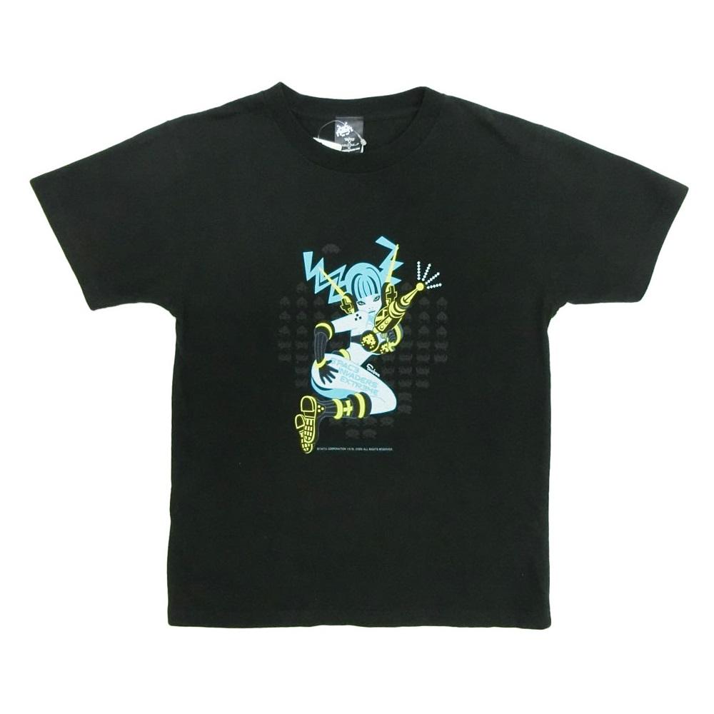 \3980以上購入で 送料無料 未使用 SPACE INVADERS×feebee スペースインベーダーズ×フィービー Tシャツ ガールイラスト XS 返品交換不可 084019 中古 人気ブランド多数対象