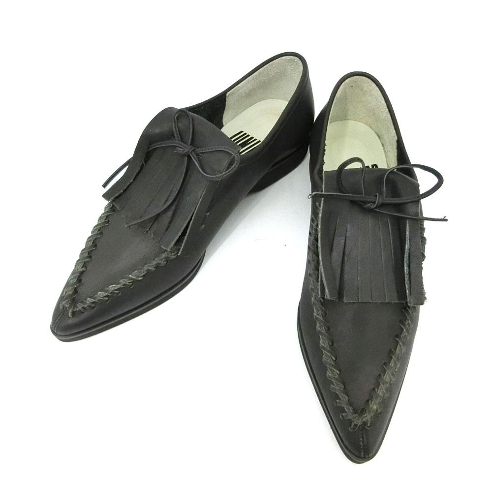 新品同様 Jean Paul GAULTIER ジャンポールゴルチエ 「3 1/2」 クラシックタッセルレザーシューズ (ゴルチェ 靴ブーツ) 084599 【中古】