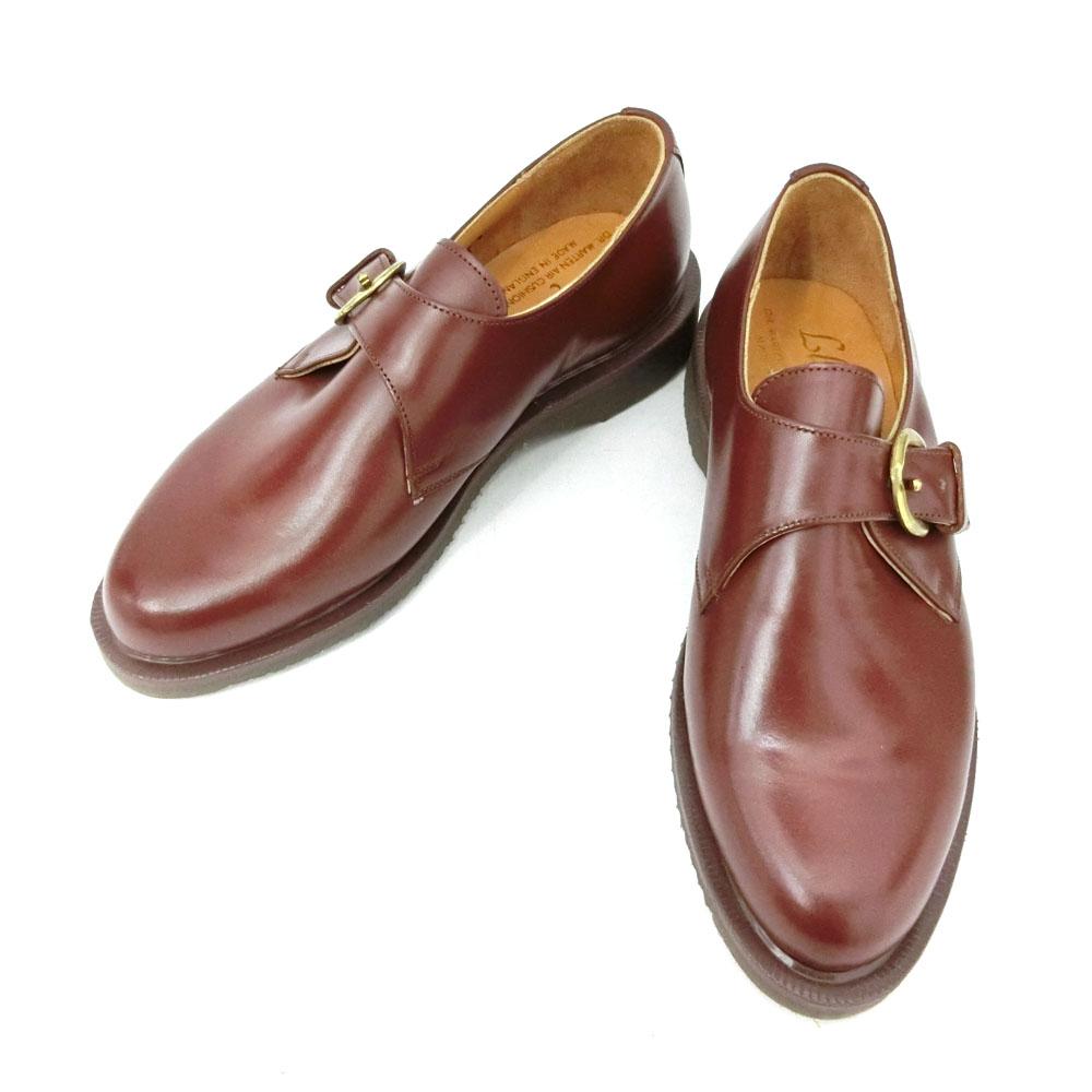 【新古品】 デッドストック vintage Dr.Martens ヴィンテージ ドクターマーチン 「UK4」 モンクストラップレザーブーツ (靴シューズ) 084992 【中古】