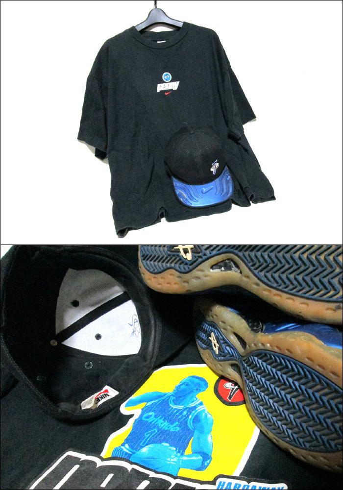 Vintage NIKE 비테이지나이키에아막스페니하다웨이스니카・T셔츠・캡 3점 세트 085249