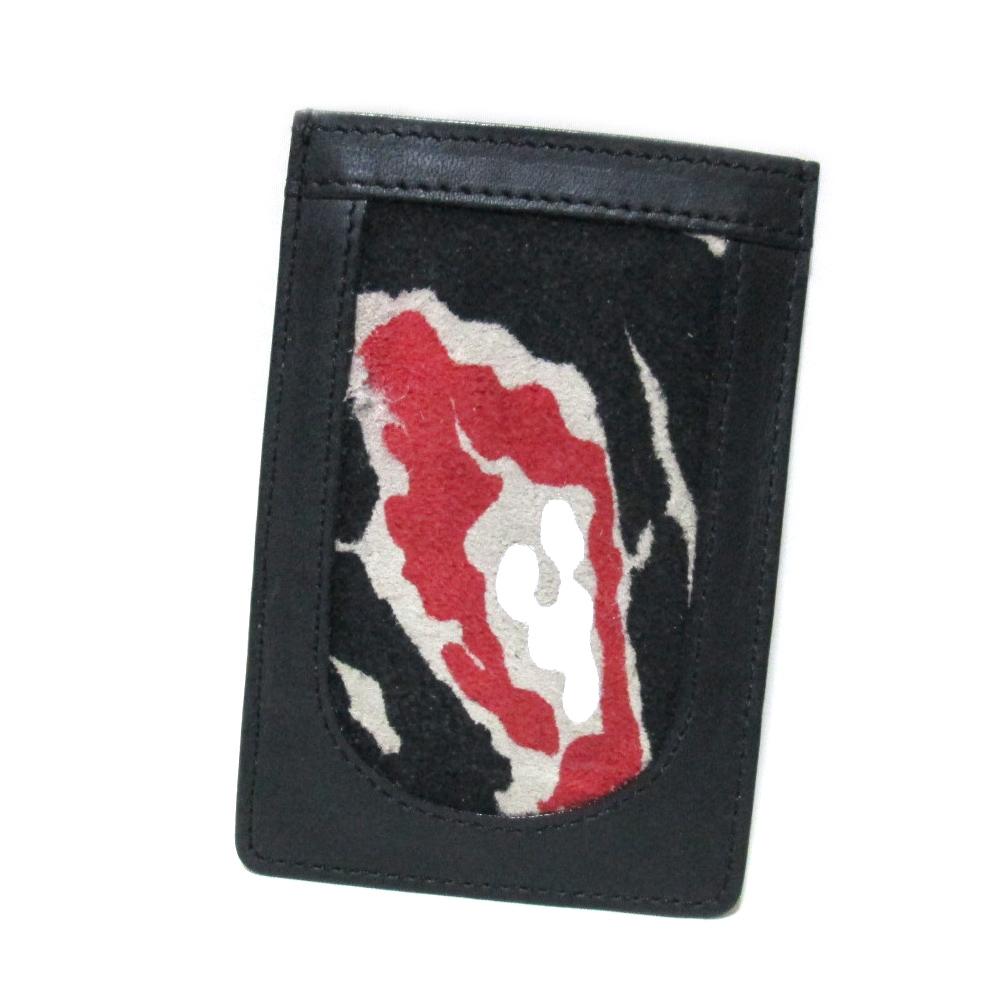 廃盤 Vivienne Westwood ヴィヴィアンウエストウッド レオパードレザーパスケース (カードケース) 087807 【中古】