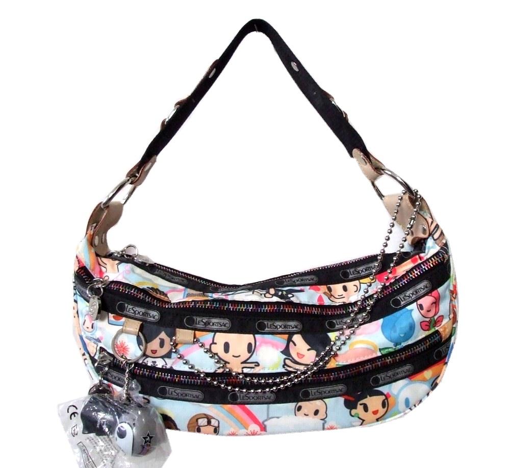 Out Of Print Tokidoki For Lesportsac Limited Edition Handbag Keyring With Carabiner 090638