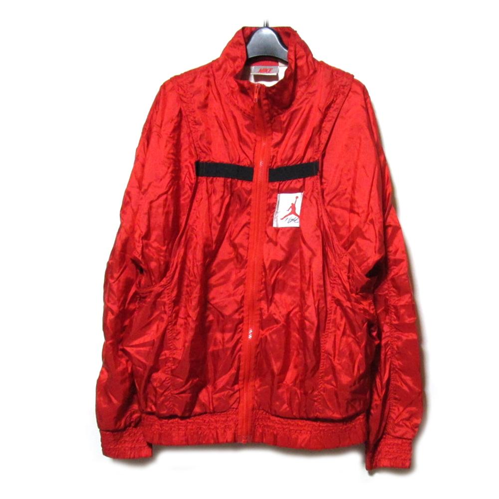ba91ff564d6 NIKE AIR JORDAN 4 Nike Air Jordan red Dorman nylon jacket (vintage vintage  jacket red ...