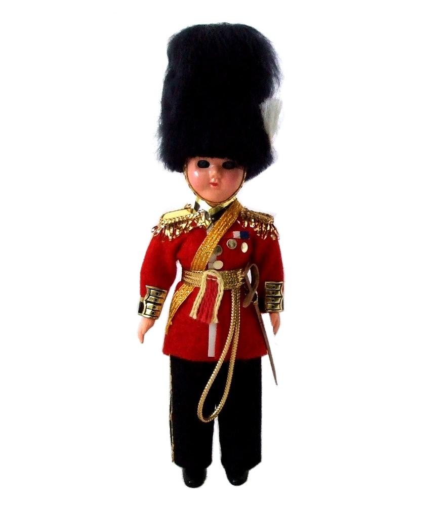 Vintage British Guards 빈티지 영국 근위병 영국 만들어진 인형 (Almar Dolls) 94792