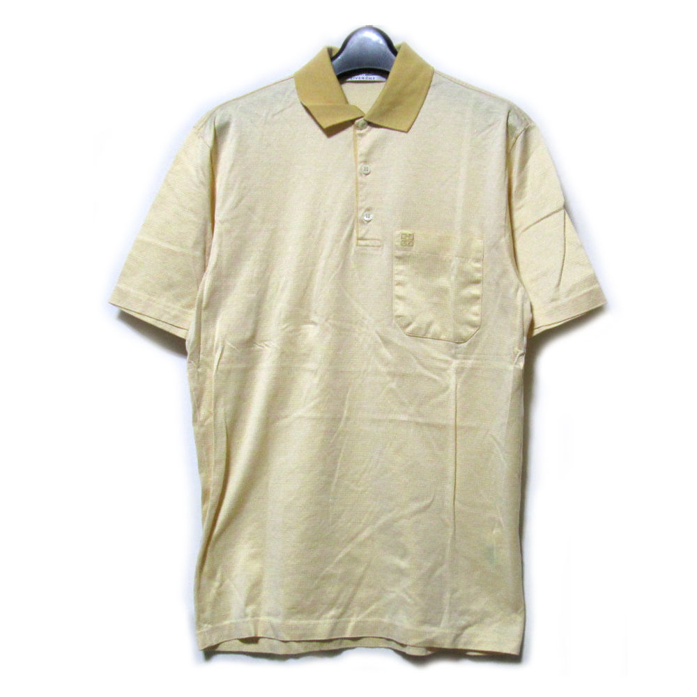 huge discount af3ee 277c0 GIVENCHY given SI's classic short sleeve polo made in Italy (MONSIEUR  Monsieur Givenchy) 095323