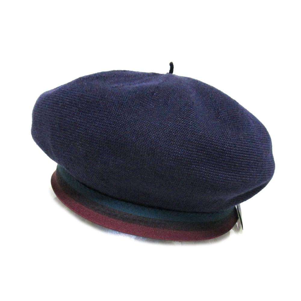 美品 pub パブ 「F」 リネンベレー帽 (帽子 日本製 Made in Japan) 095398 【中古】