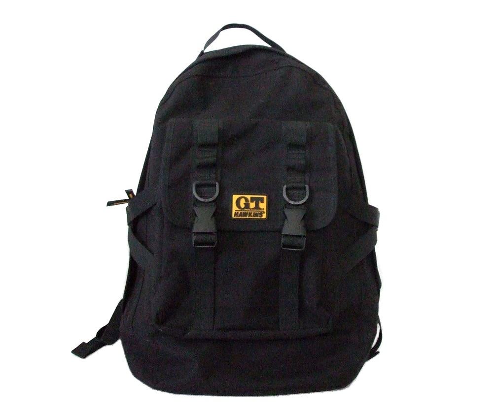 096438 Mint G T Hawkins Dirty Black Backpack Bags