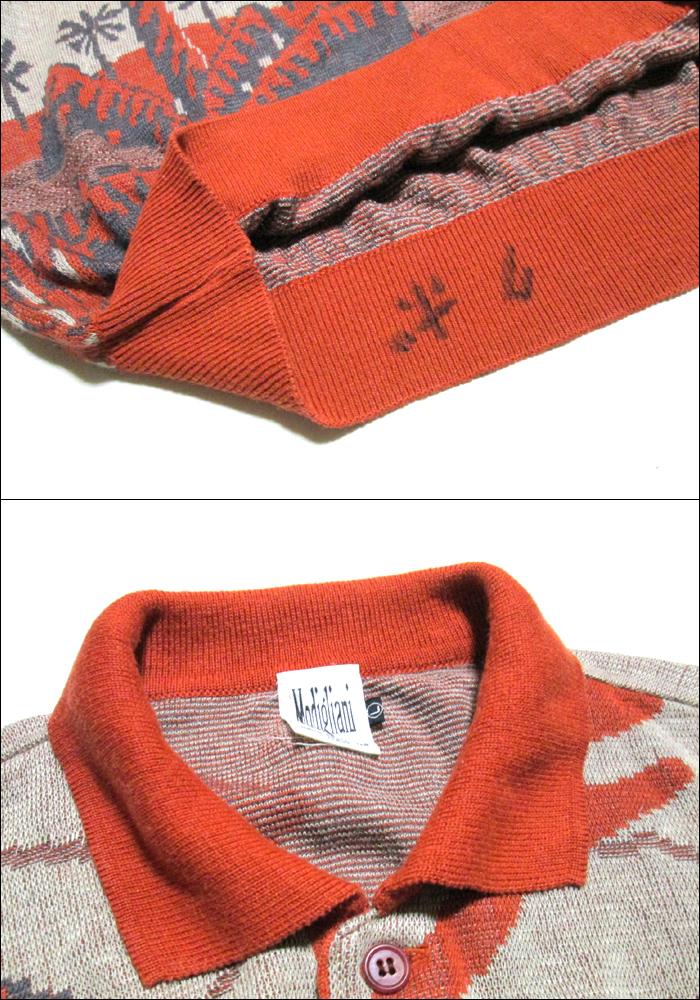 Modigliani Uomo 모디리아니워모 「L」이탈리아제 서머 니트 폴로 셔츠(반소매) 097169