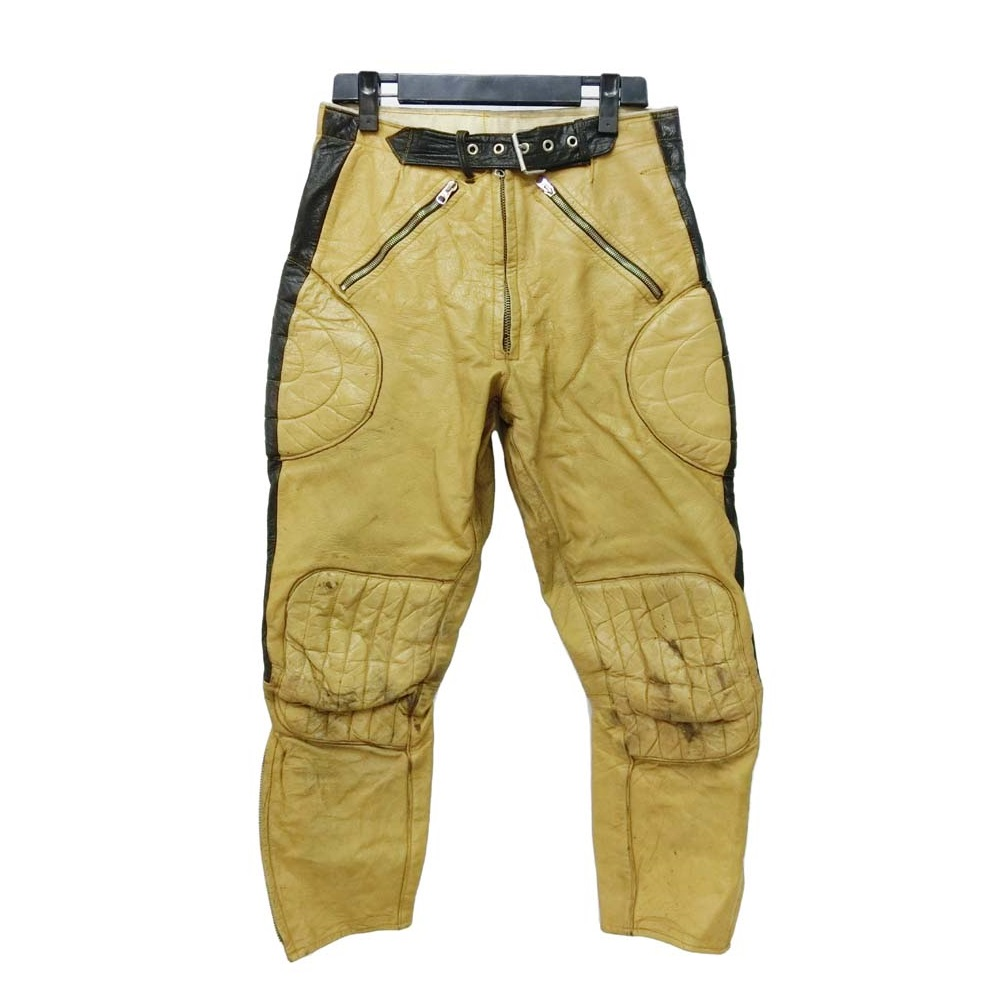 3d38245c 097616 vintage Getskinn vintage Jet skin leather riders pants (leather  motorcycle racing) ...