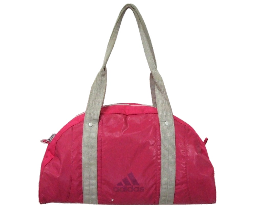 baf01ee7cd6f CROWN STORE - USED BRAND CLOTHING STORE  Worn    SALE  099248 adidas adidas  Boston bag (pink bag)