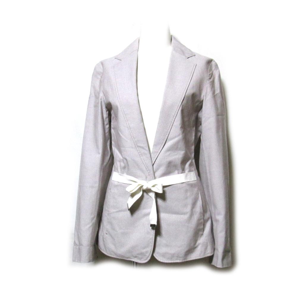 美品 Maison Margiela MM6 マルタンマルジェラ エムエム6 「38」 イタリア製 ベルトジャケット (メゾン ) 100014 【中古】