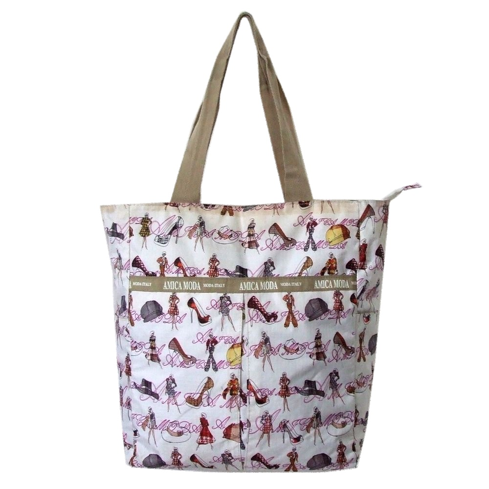 quality design 628cf 8a462 100626 AMICA MODA amicumodu tote bag (white Italy bag)